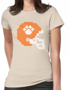 Clemson Tigers Football 8-bit Helmet Womens Fitted T-Shirt