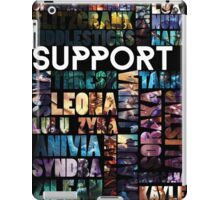 Supports of the League iPad Case/Skin