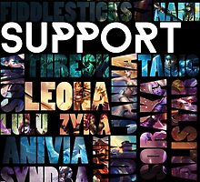 Supports of the League by Feldelta