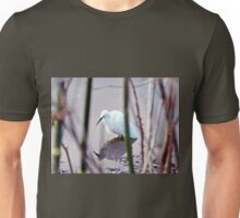 Egret in the Marshes Unisex T-Shirt