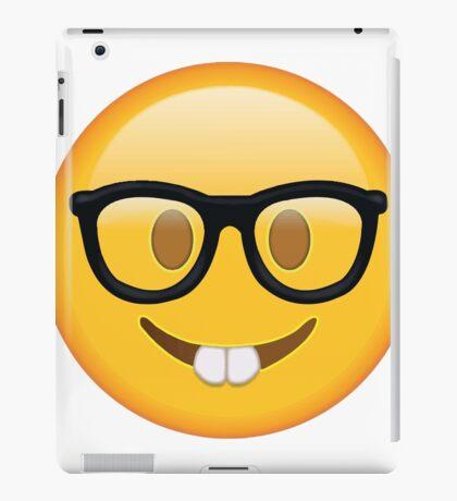 Nerd Glasses Buckteeth Emoji Design iPad Case/Skin