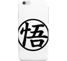 Dragon Ball Z - Goku Kanji T-Shirt iPhone Case/Skin
