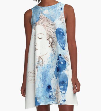 My Ophelia - Meditation on Water A-Line Dress