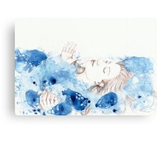 My Ophelia - Meditation on Water Metal Print