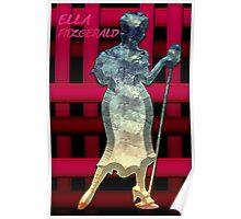 Misty Blue /  Ella Fitzgerald Poster