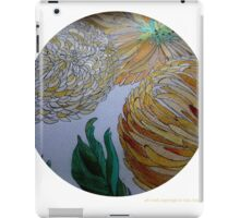 Chrysanemums 11 iPad Case/Skin