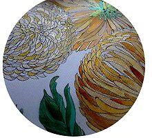 Chrysanemums 11 by Gea Austen