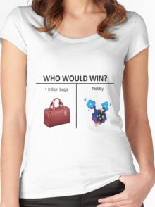 Nebby Get In The Bag Women's Fitted Scoop T-Shirt