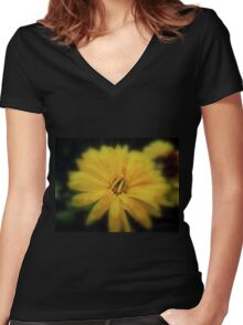 Sunshine Women's Fitted V-Neck T-Shirt