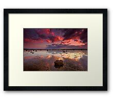 Long Reef Sunrise Framed Print