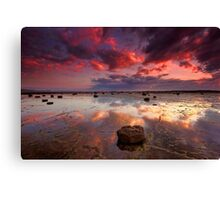 Long Reef Sunrise Canvas Print