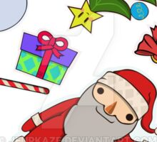 Collection of Christmas Stickers Sticker