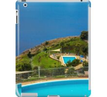 Swimming Pools at the Sea Coast - Travel Photography iPad Case/Skin