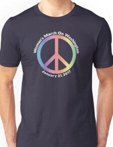 Women's March On Washington Peace Sign Unisex T-Shirt
