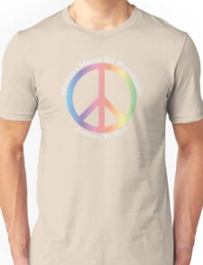 Women's March On Washington Peace Sign Unisex T-Shirt