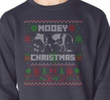 CUTE COW DESIGN MOOEY UGLY CHRISTMAS SWEATER STYLE Pullover