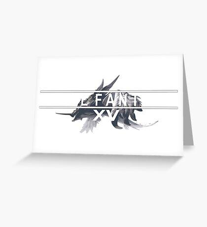 Final fantasy XV Greeting Card