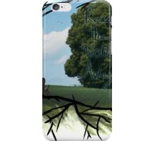 """""""Read The World Away"""" [Transparent Fade] iPhone Case/Skin"""