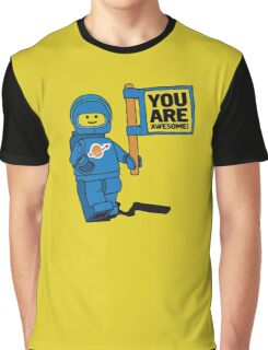 Lego-Inspired Benny | You Are Awesome!  Graphic T-Shirt