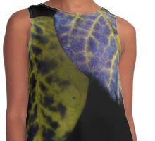 Yellow and Purple Leaves  Contrast Tank