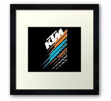 KTM Racing Framed Print