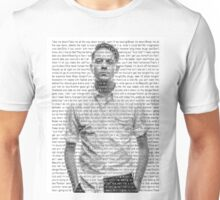Let's Get Lost Lyric Overlay - G-Eazy Unisex T-Shirt