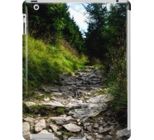Wild Path in the Mountains - Nature Photography iPad Case/Skin
