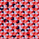 Funky Geometric Pattern by modernistdesign