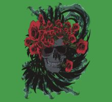 Roses skull Kids Clothes