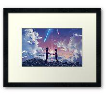 Kimi No Na Wa Connection Framed Print