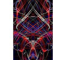 Light Sculpture 9 Photographic Print