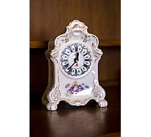 Old-fashioned Clock - Object Photography Photographic Print