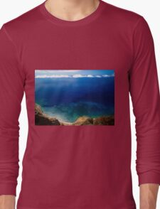 Wonderful Sea Coast - Nature Photography Long Sleeve T-Shirt