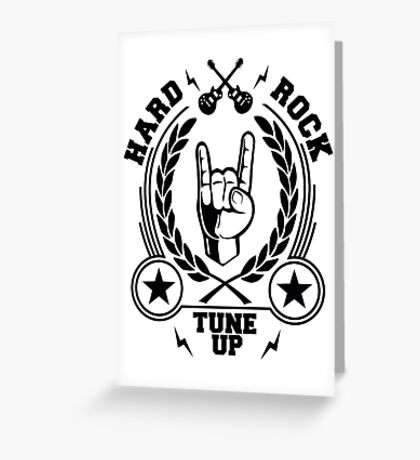 Tune Up Greeting Card