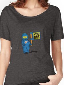 Lego-Inspired Benny | You Are Awesome!  Women's Relaxed Fit T-Shirt