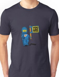 Lego-Inspired Benny | You Are Awesome!  Unisex T-Shirt