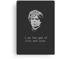 Tyrion. Canvas Print