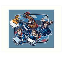 Super 80's Kart Art Print