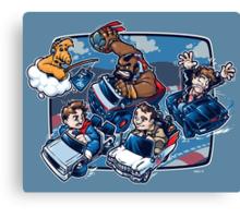 Super 80's Kart Canvas Print