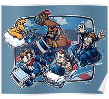 Super 80's Kart Poster