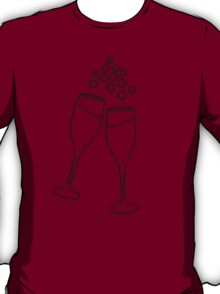 Champagne Toast T-Shirt