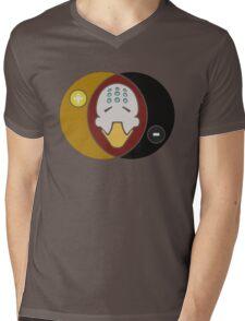Zen Diagram Mens V-Neck T-Shirt