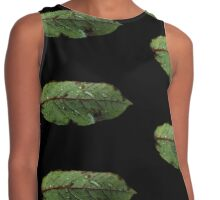 Watery Green Leaf Contrast Tank