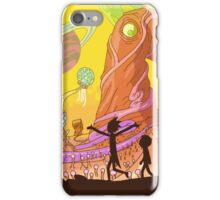 Wild Planet cartoon iPhone Case/Skin