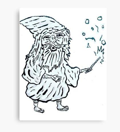 Wizard man Canvas Print