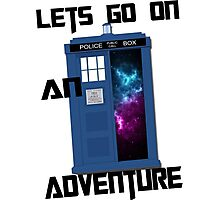 TARDIS- Let's go on an adventure #1 Photographic Print
