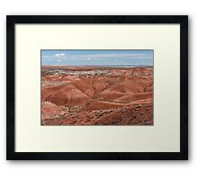 Painted Desert, Arizona USA Framed Print