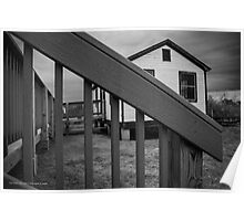 Boathouse | Fire Island, New York Poster