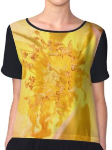 Face of the Rose Chiffon Top