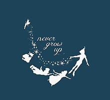 Peter Pan - Never grow old by mydeargladers